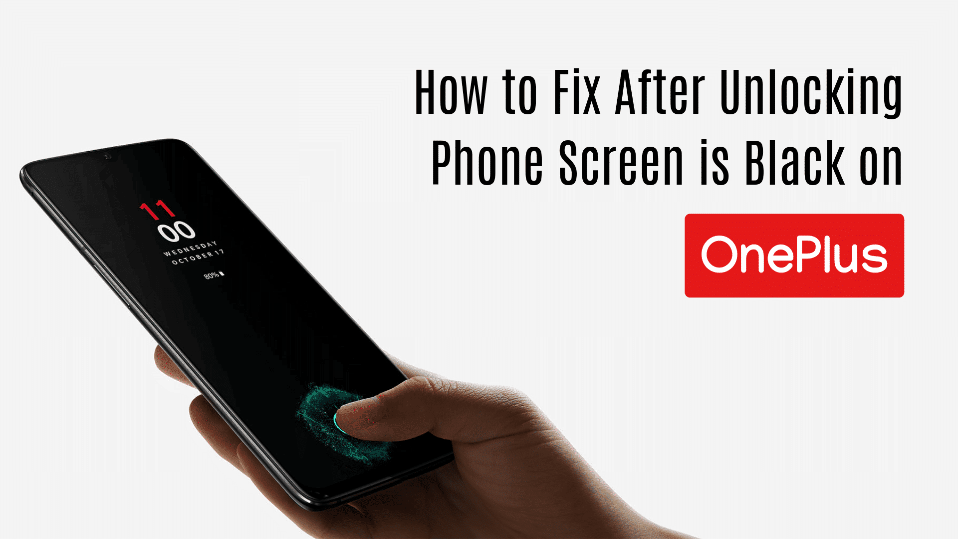 Fix after unlocking screen is black issue in OnePlus