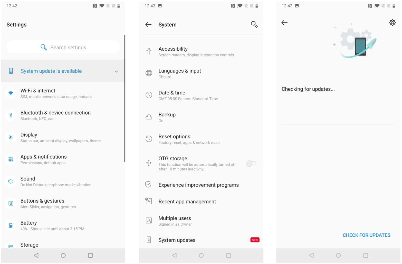 android 10 for oneplus