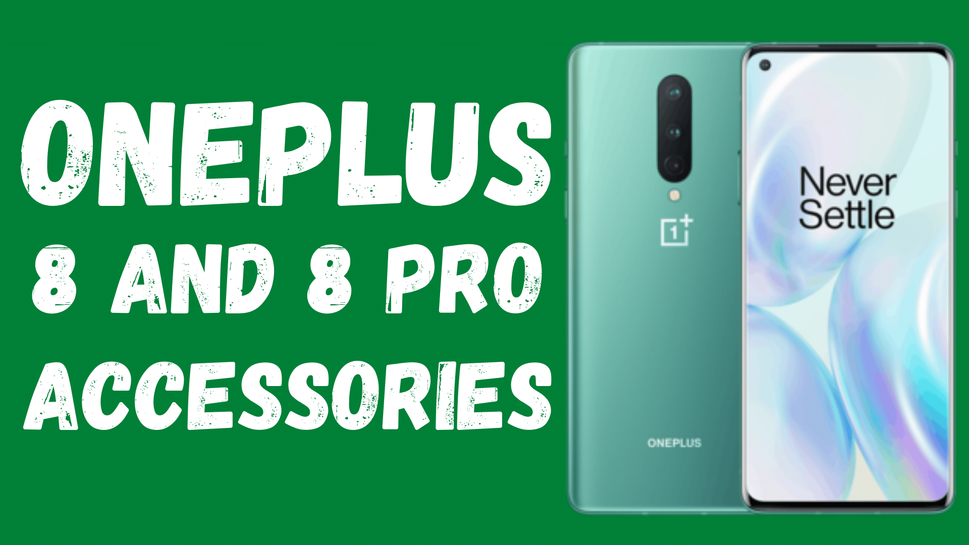 OnePlus 8 Pro accessories