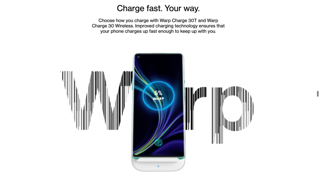 oneplus 8 pro wireless charger